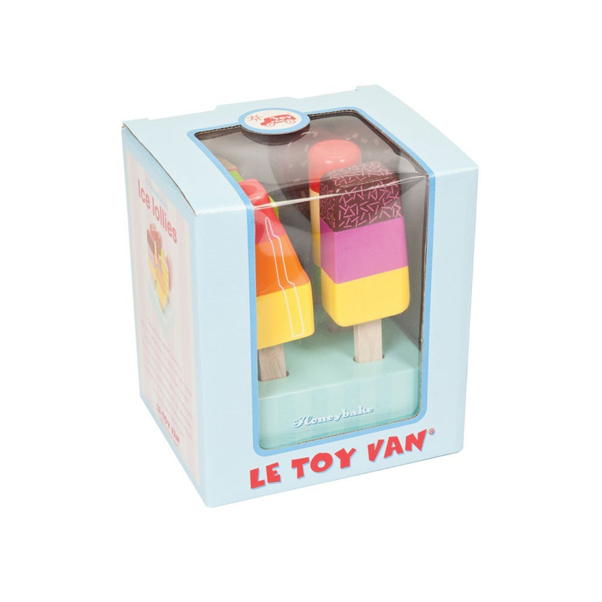 Le Toy Van Ice Lollies Icy poles Le Toy Van Toy Kitchens & Play Food at Little Earth Nest Eco Shop