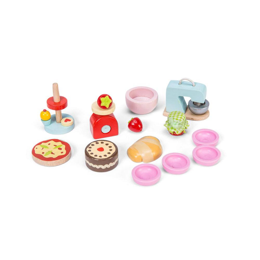 Le Toy Van Make and Bake Le Toy Van Dollhouse Accessories at Little Earth Nest Eco Shop