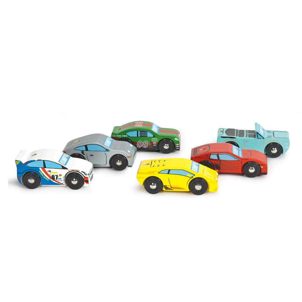 Le Toy Van Montecarlo Sports Cars Le Toy Van Toy Cars at Little Earth Nest Eco Shop