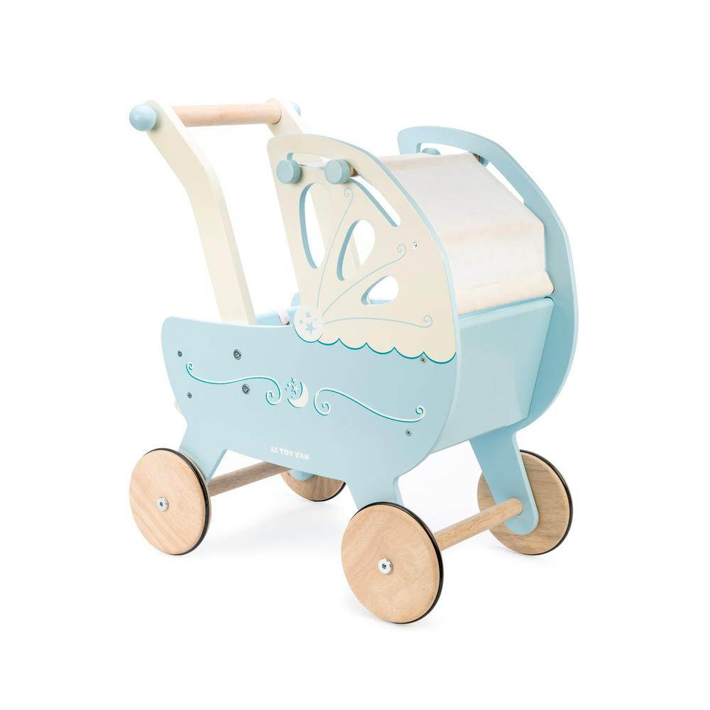 Le Toy Van Moonlight Pram Le Toy Van Pretend Play at Little Earth Nest Eco Shop