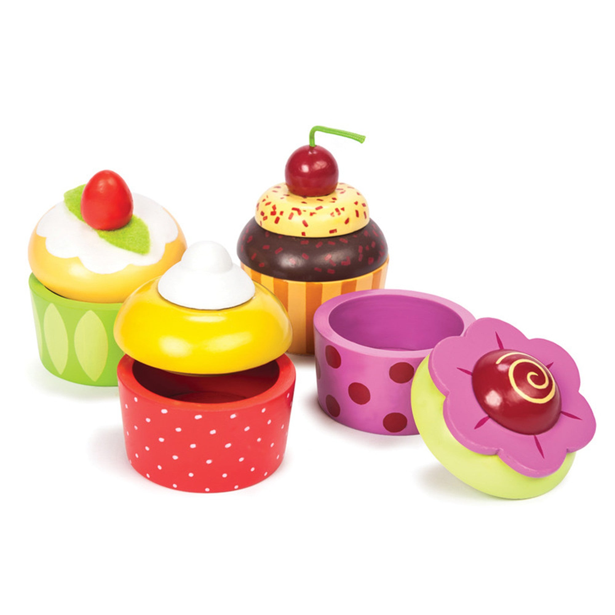 Le Toy Van Cupcake Trinket Boxes   - Le Toy Van - Little Earth Nest - 1