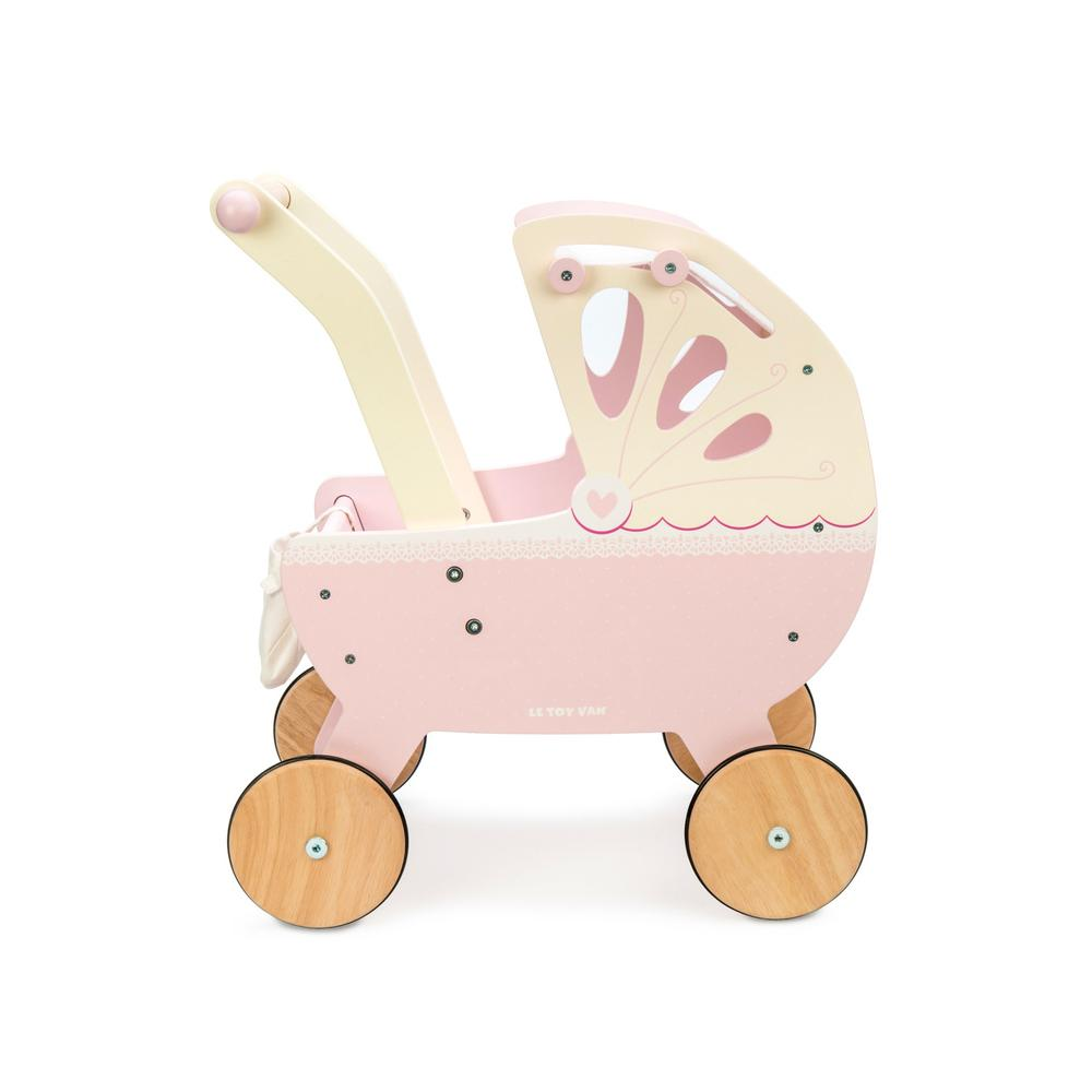 Le Toy Van Sweet Dreams Pram Le Toy Van Toys at Little Earth Nest Eco Shop