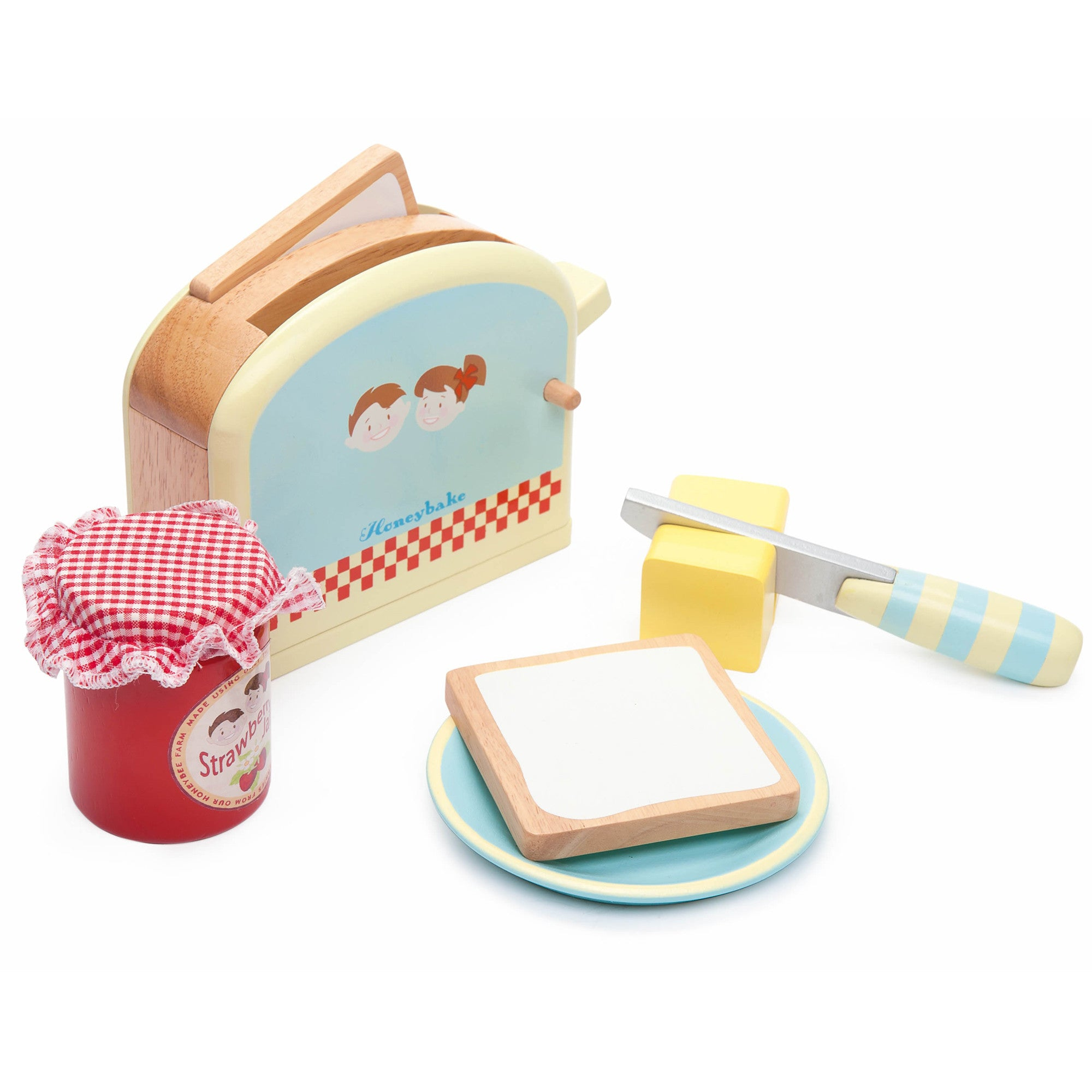 Le Toy Van Honeybake Toaster Set   - Le Toy Van - Little Earth Nest - 1