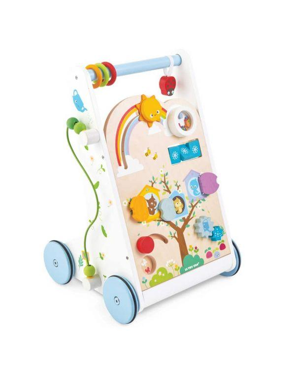 Le Toy Van Petilou Activity Walker Le Toy Van Baby Activity Toys at Little Earth Nest Eco Shop