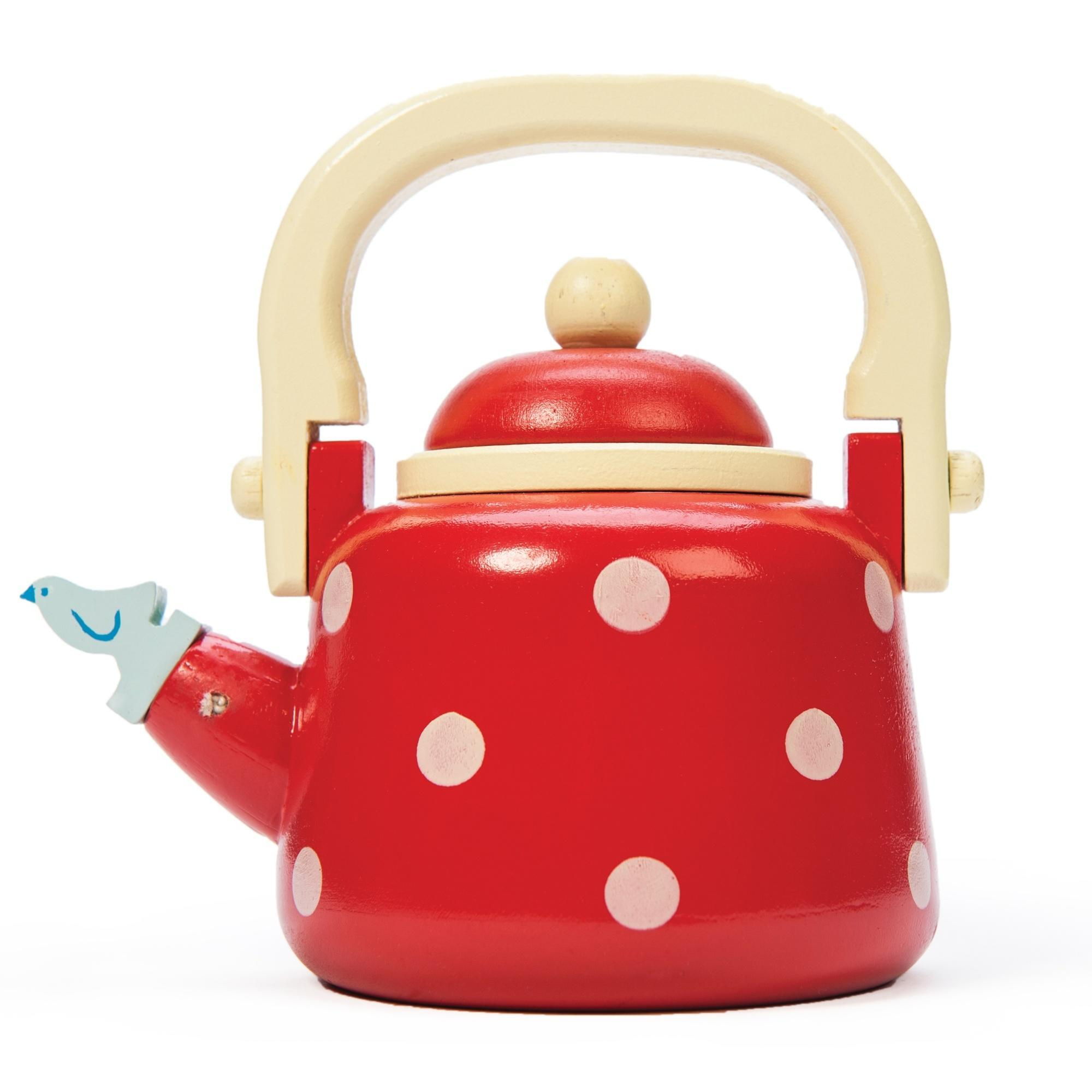 Le Toy Van Dotty Kettle Le Toy Van Pretend Play at Little Earth Nest Eco Shop
