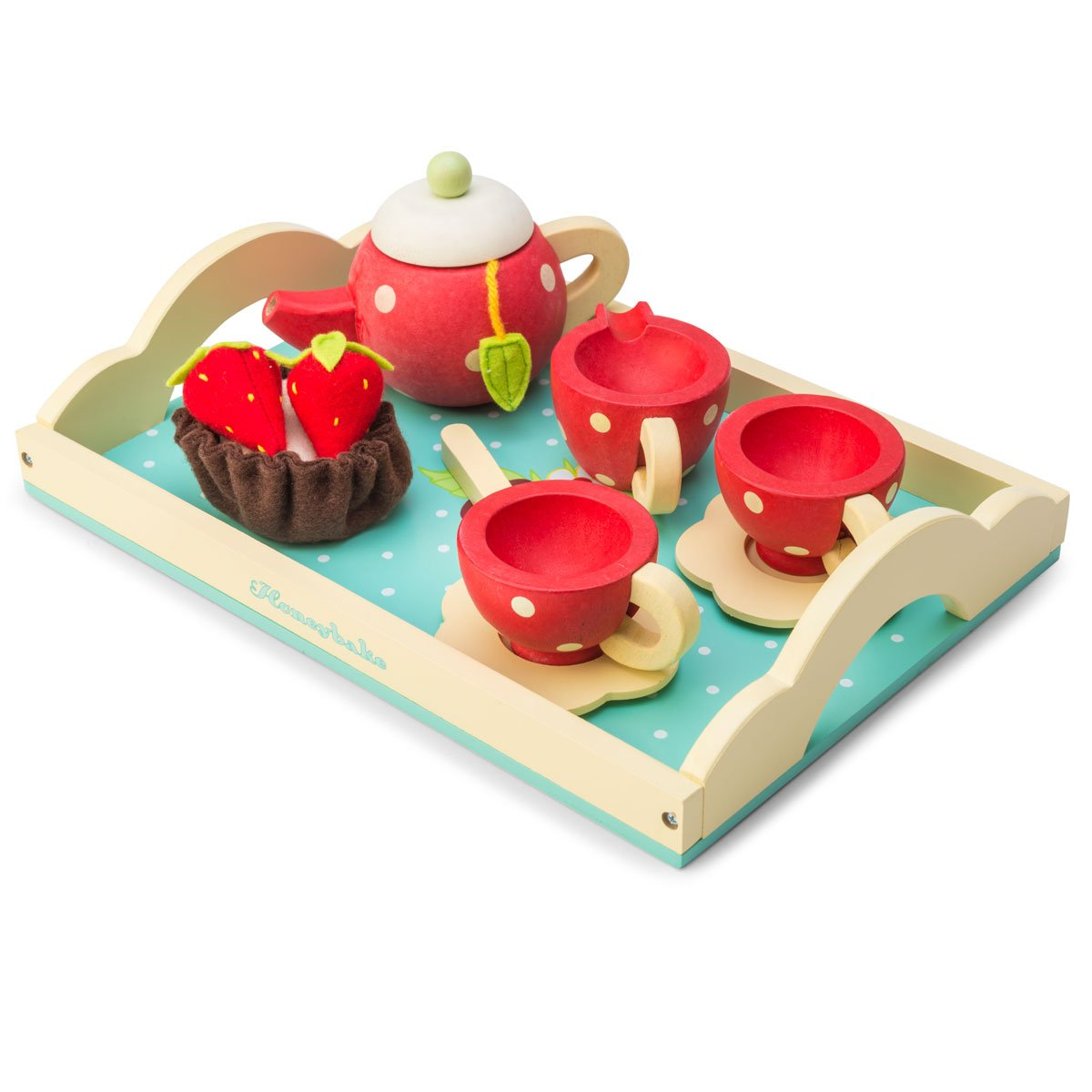 Le Toy Van Honeybee Tea Set Le Toy Van Pretend Play at Little Earth Nest Eco Shop