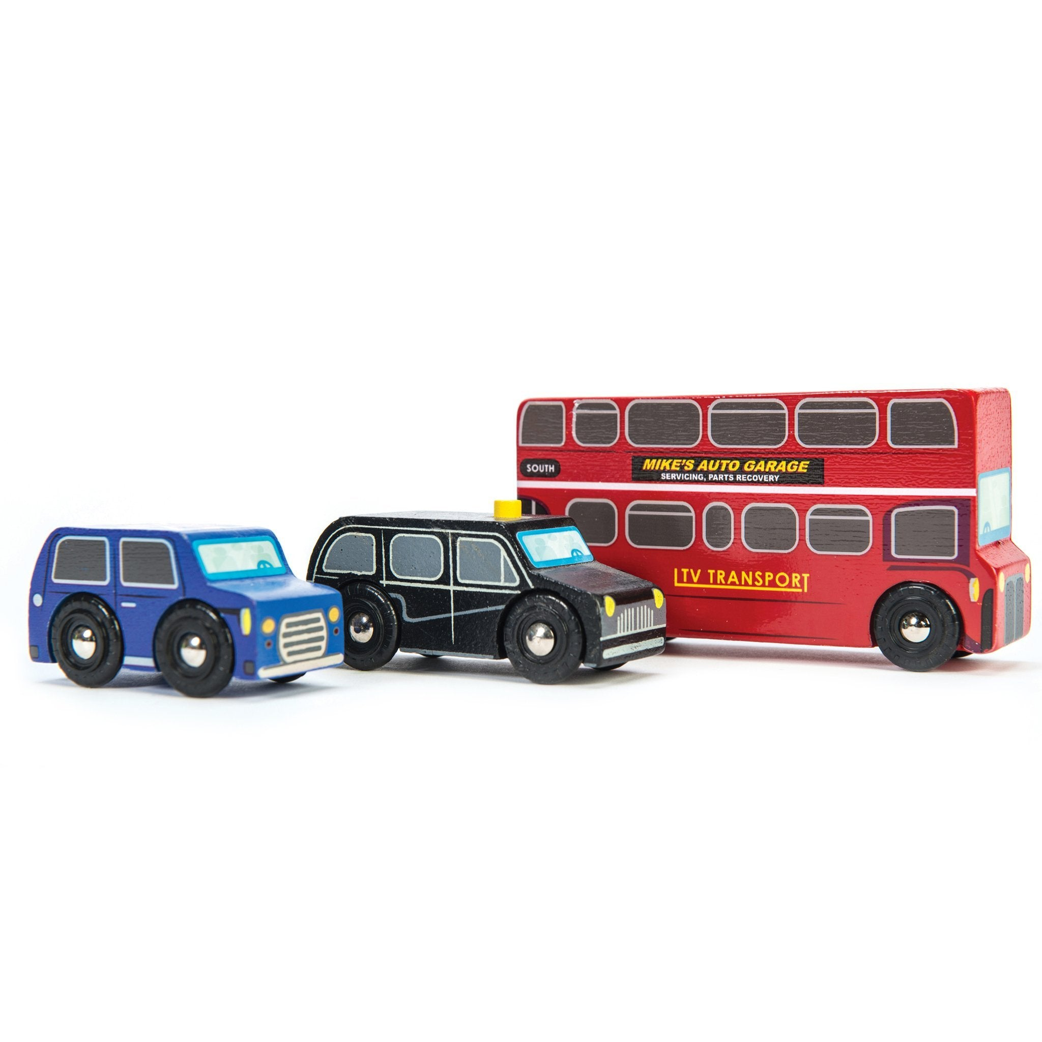 Le Toy Van Little London Car Set Le Toy Van Toy Cars at Little Earth Nest Eco Shop