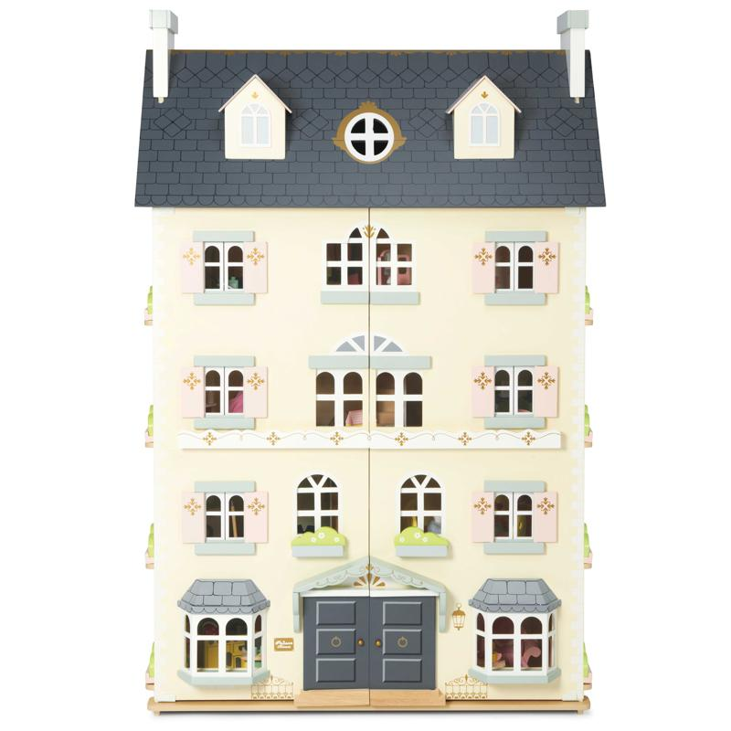 Le Toy Van Daisylane Palace Dolls House Le Toy Van Dollshouses at Little Earth Nest Eco Shop