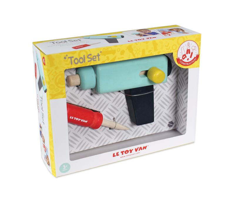 Le Toy Van Basic Tool Set Le Toy Van General at Little Earth Nest Eco Shop