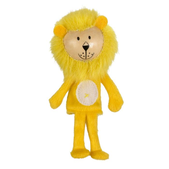 Boutique Finger Puppets Fiesta Crafts Toys Lion at Little Earth Nest Eco Shop