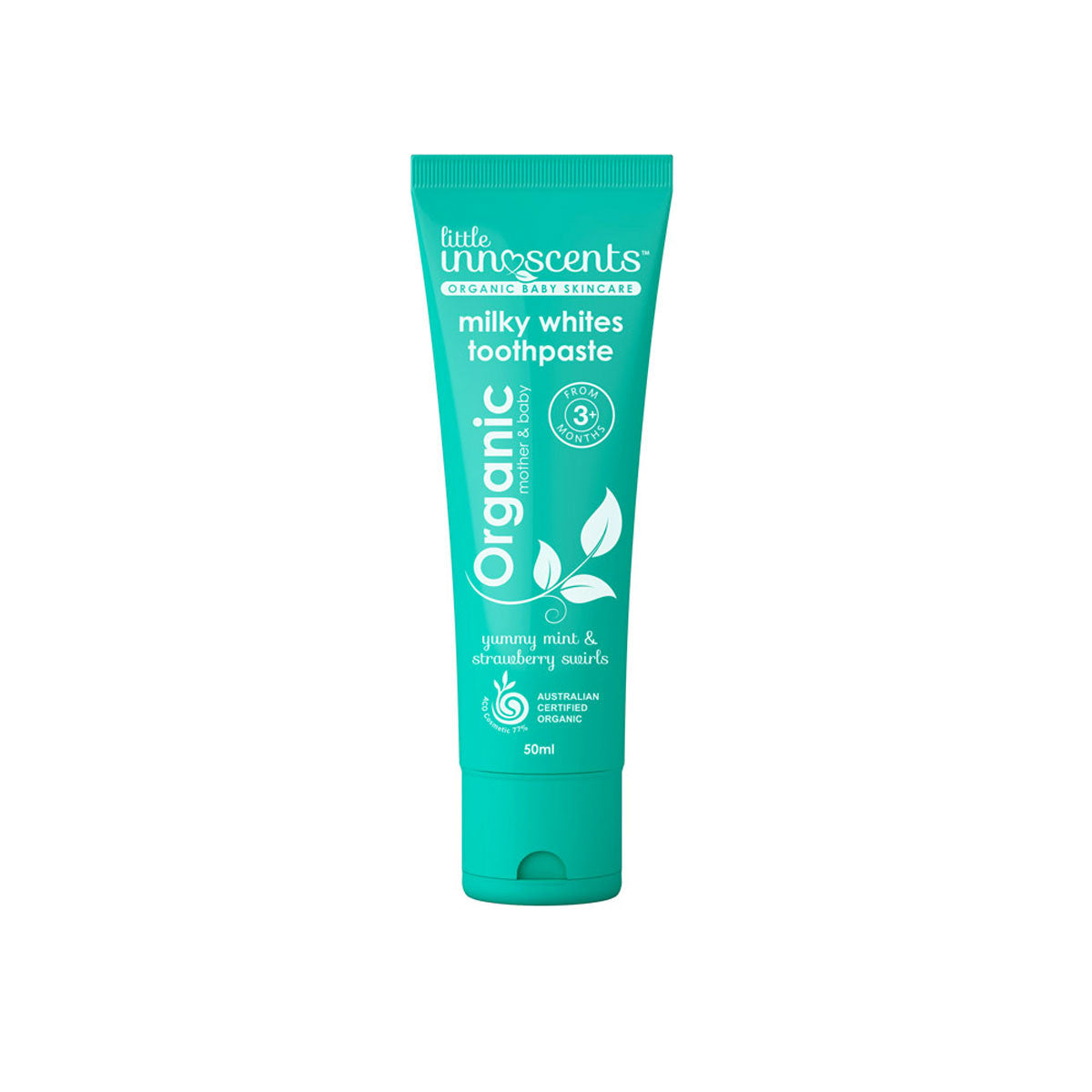 Little Innoscents Toothpaste 50ml Little Innoscents Toothpaste at Little Earth Nest Eco Shop