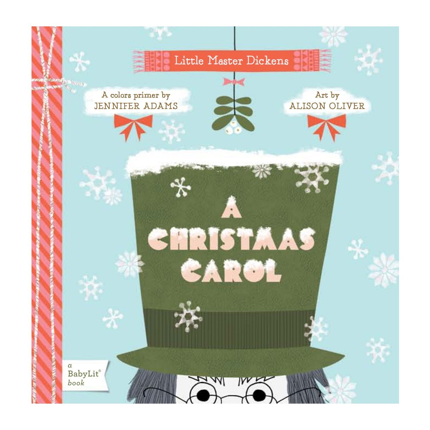 A Christmas Carol Baby Board Book Babylit Books at Little Earth Nest Eco Shop