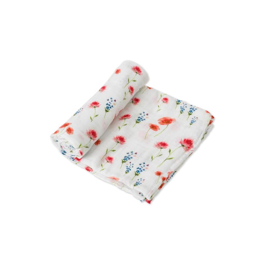 Cotton Muslin Swaddle Little Unicorn Bath and Body Wild Mums at Little Earth Nest Eco Shop