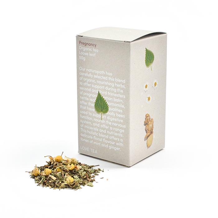 Love Chai Pregnancy Blend Loose Leaf Tea Box 50g Love Chai Tea and Infusions at Little Earth Nest Eco Shop
