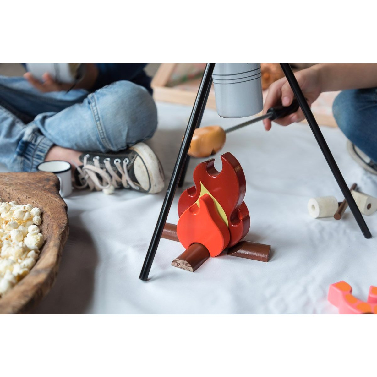 Make Me Iconic Campfire Make Me Iconic Activity Toys at Little Earth Nest Eco Shop