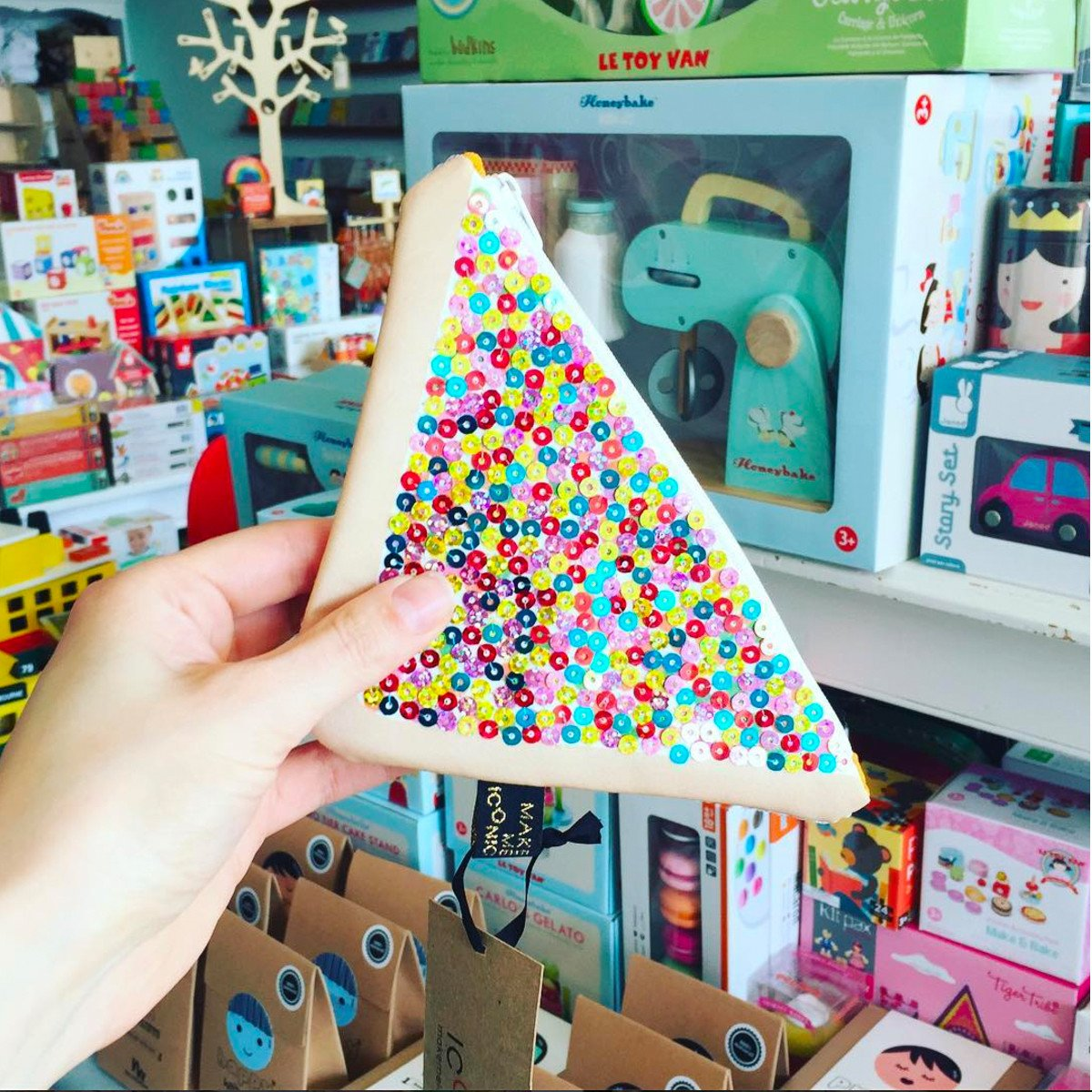 Make Me Iconic Fairy Bread Purse