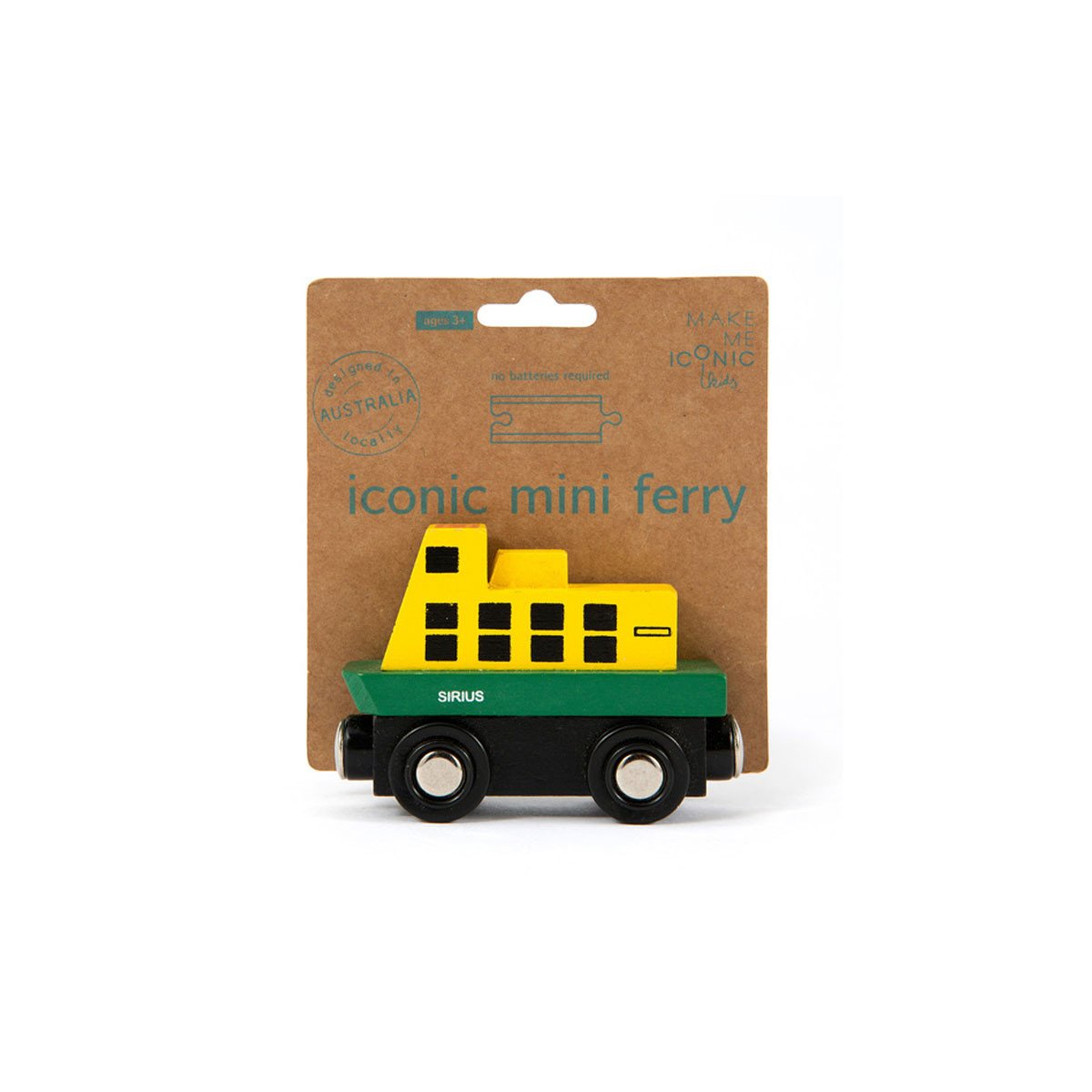 Make Me Iconic Mini Ferry Make Me Iconic Play Vehicles at Little Earth Nest Eco Shop