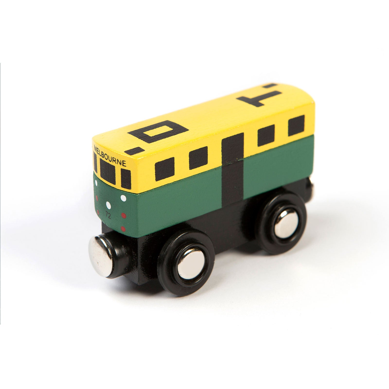 Make Me Iconic Mini Tram Make Me Iconic Play Vehicles at Little Earth Nest Eco Shop