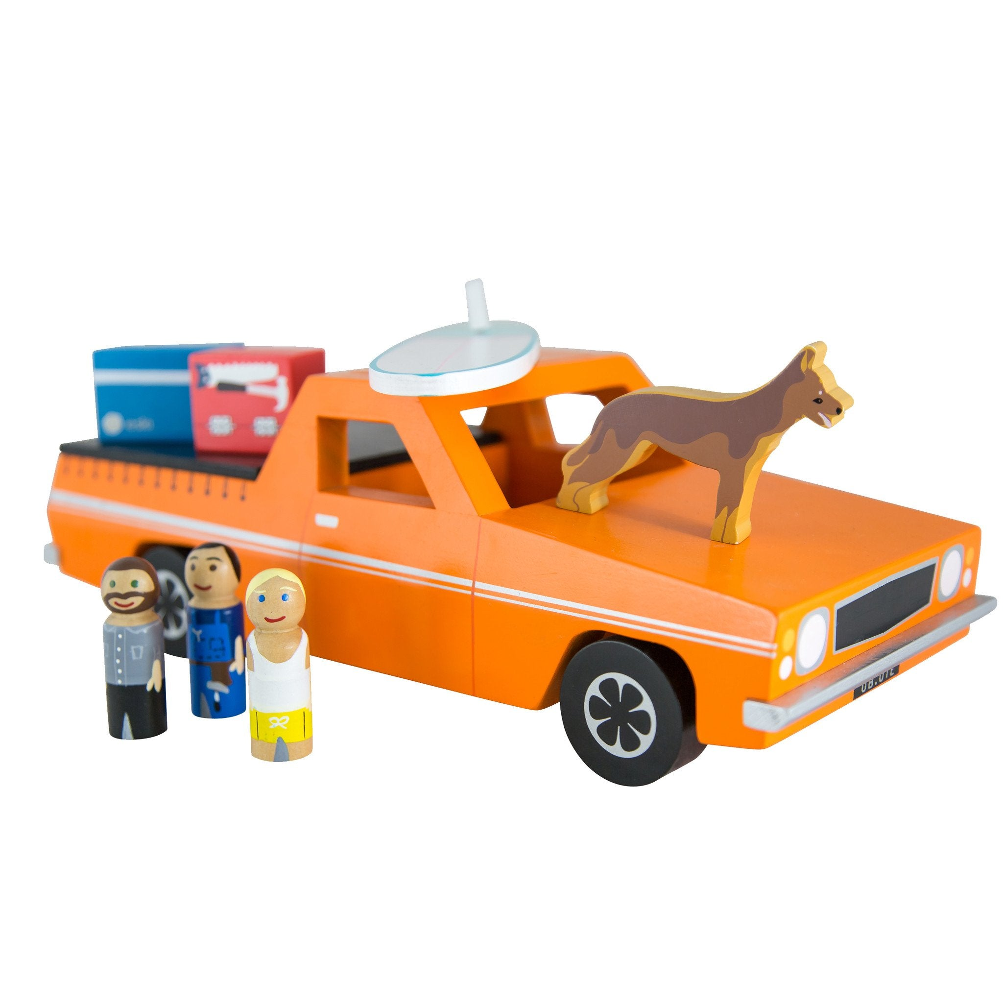 Make Me Iconic Ute Toy Make Me Iconic Toy Cars at Little Earth Nest Eco Shop