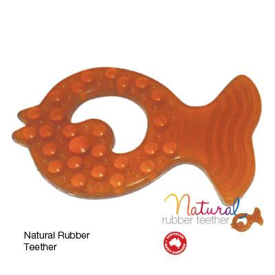 Make U Well Natural Rubber Teether Toy Pack of 2 Make U Well Dummies and Teethers at Little Earth Nest Eco Shop