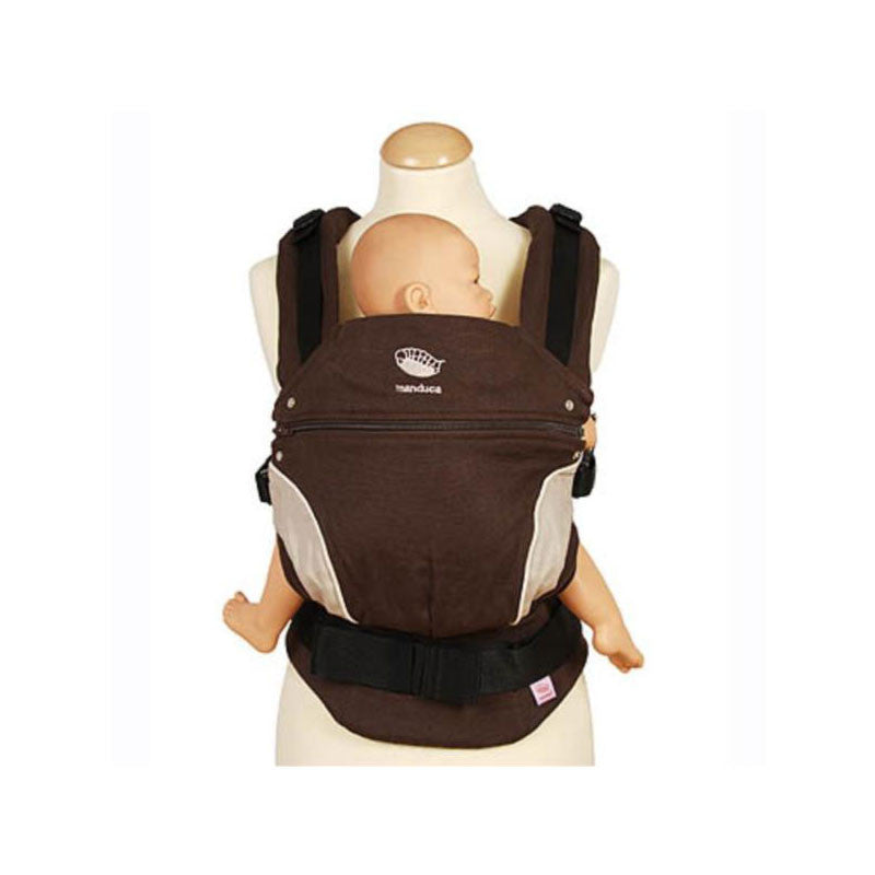 Manduca Baby Carrier Manduca Baby Carriers Chocolate at Little Earth Nest Eco Shop