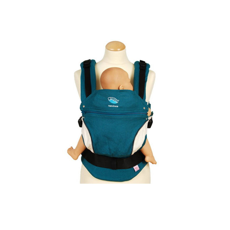 Manduca Baby Carrier Manduca Baby Carriers Petrol at Little Earth Nest Eco Shop
