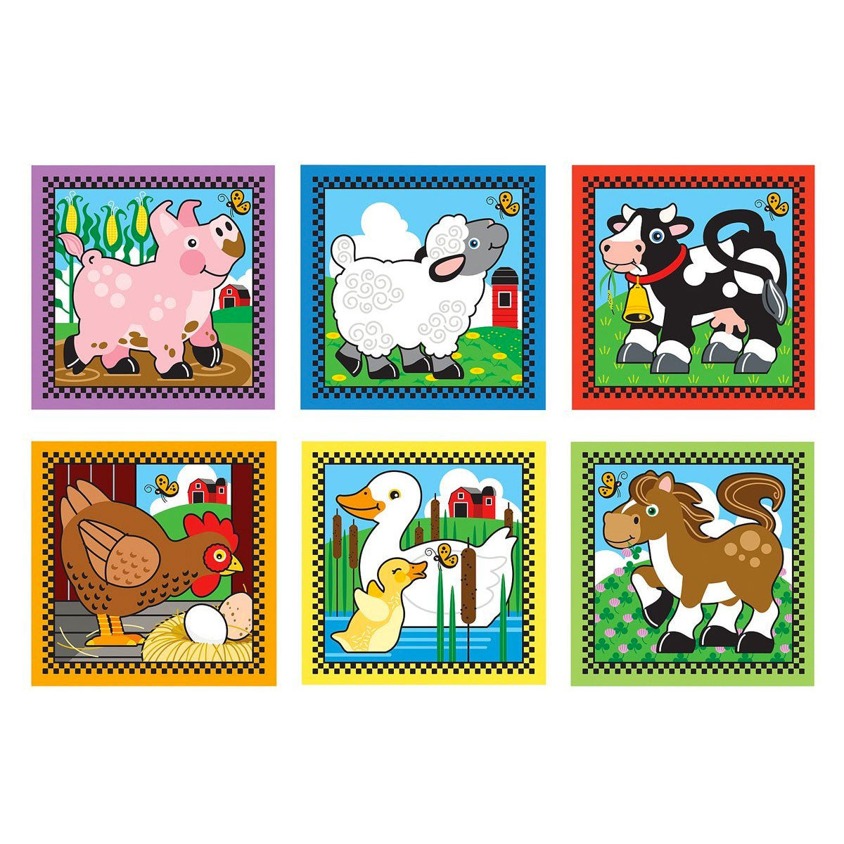 Melissa and Doug Cube Puzzle - 16 Piece   - Melissa and Doug - Little Earth Nest - 3