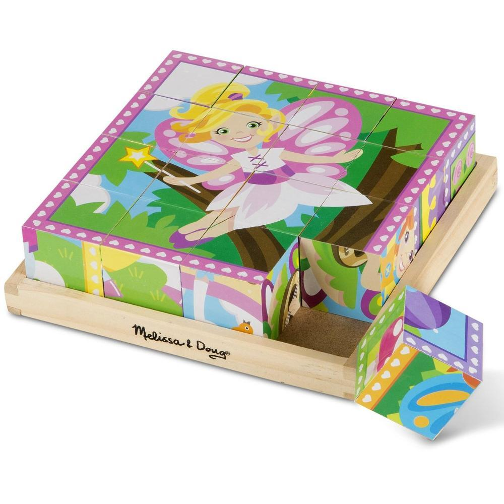 Melissa and Doug Cube Puzzle - 16 Piece