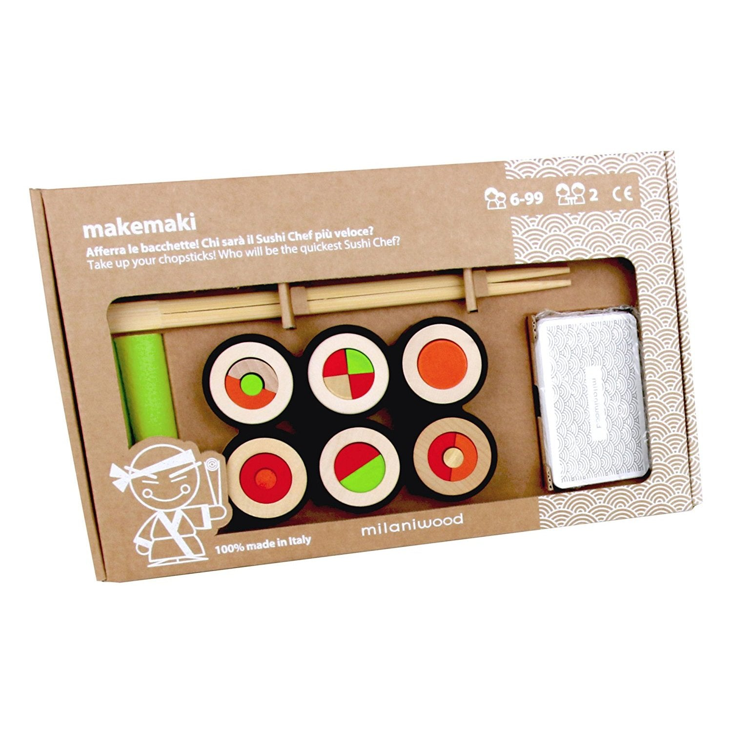 Milaniwood MakeMaki Game Milaniwood Activity Toys at Little Earth Nest Eco Shop
