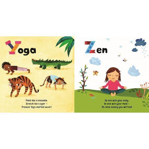 ABC Mindful Me Board Book Little Earth Nest Books at Little Earth Nest Eco Shop