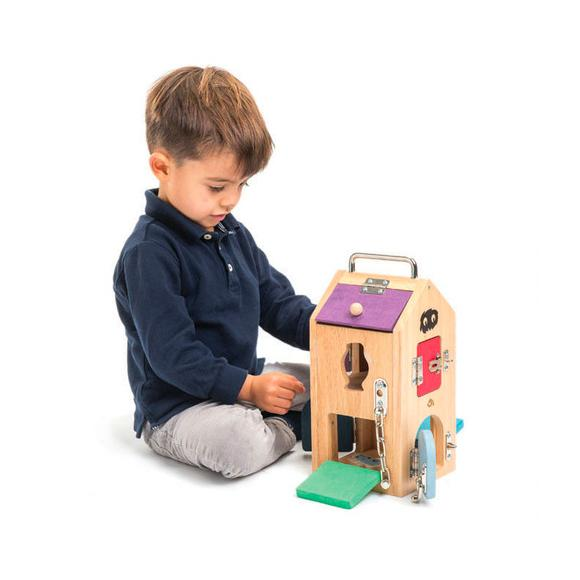Monster Lock Box Tenderleaf Toys Activity Toys at Little Earth Nest Eco Shop