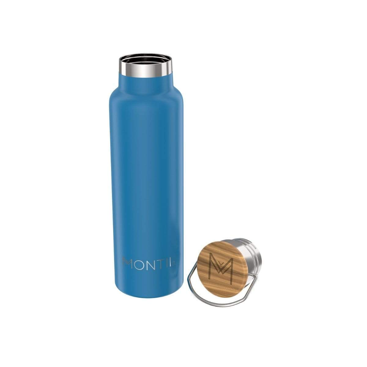 Montii Co Insulated Bottle 600ml Montii Water Bottles Royal Blue at Little Earth Nest Eco Shop