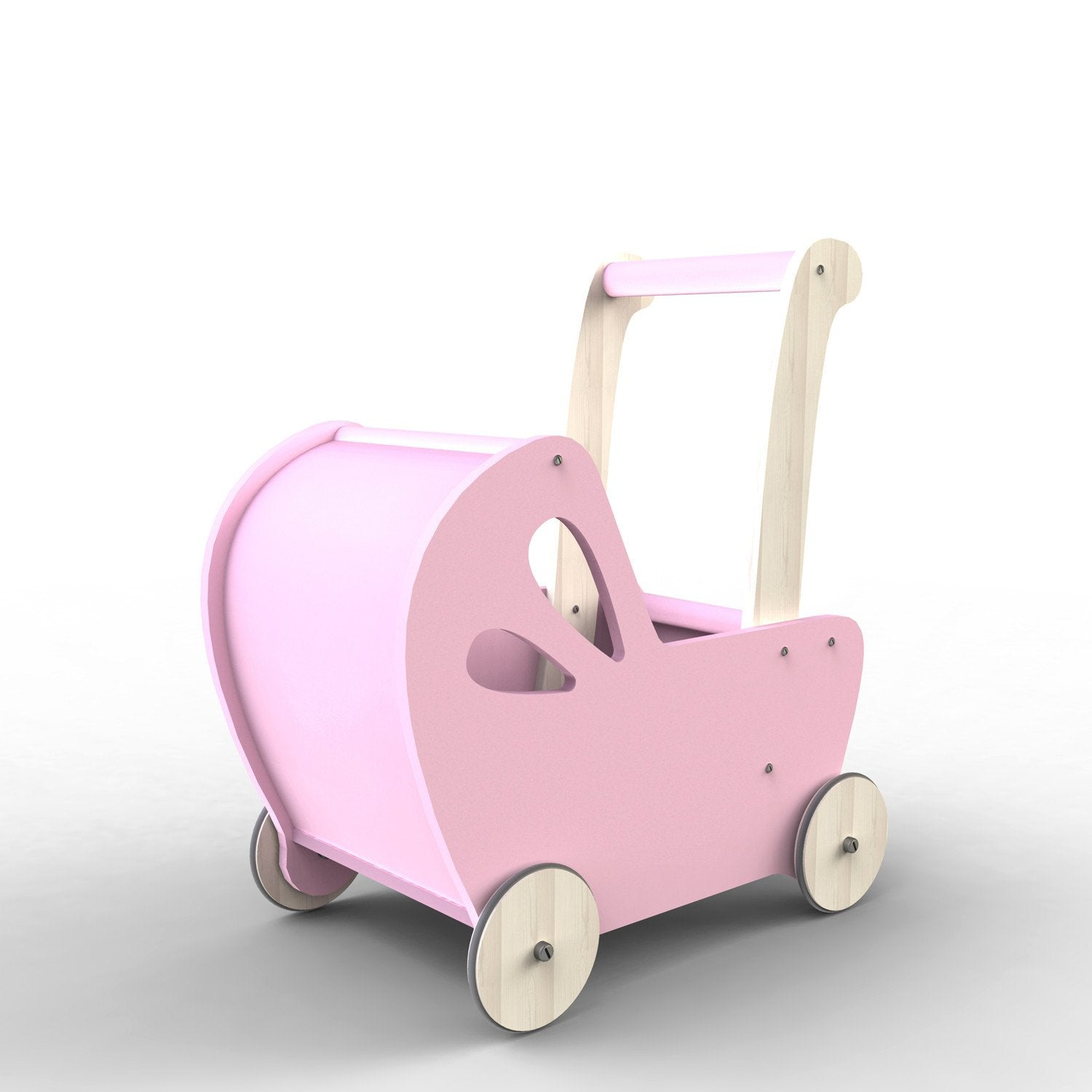 Moover Line Dolls Pram Moover Toys Dolls, Playsets & Toy Figures Pink at Little Earth Nest Eco Shop