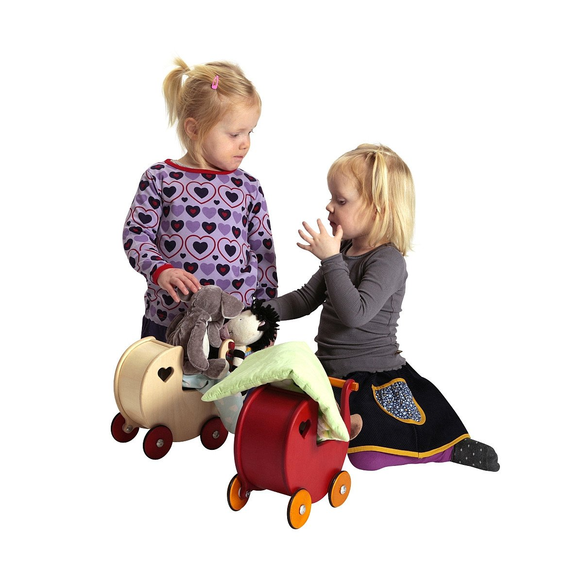 Moover Mini Dolls Pram   - Moover Toys - Little Earth Nest - 1