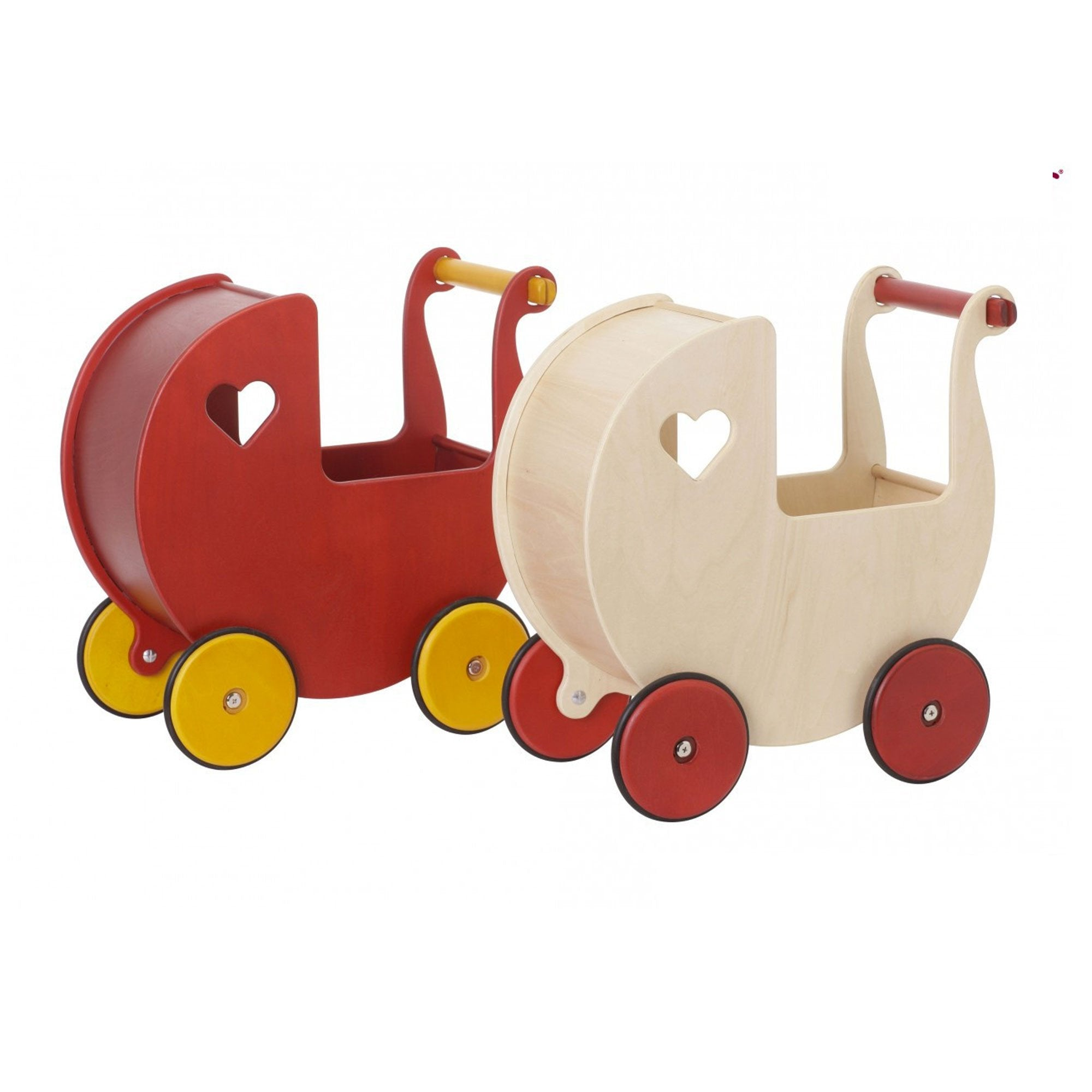 Moover Dolls Pram Moover Toys Pretend Play at Little Earth Nest Eco Shop