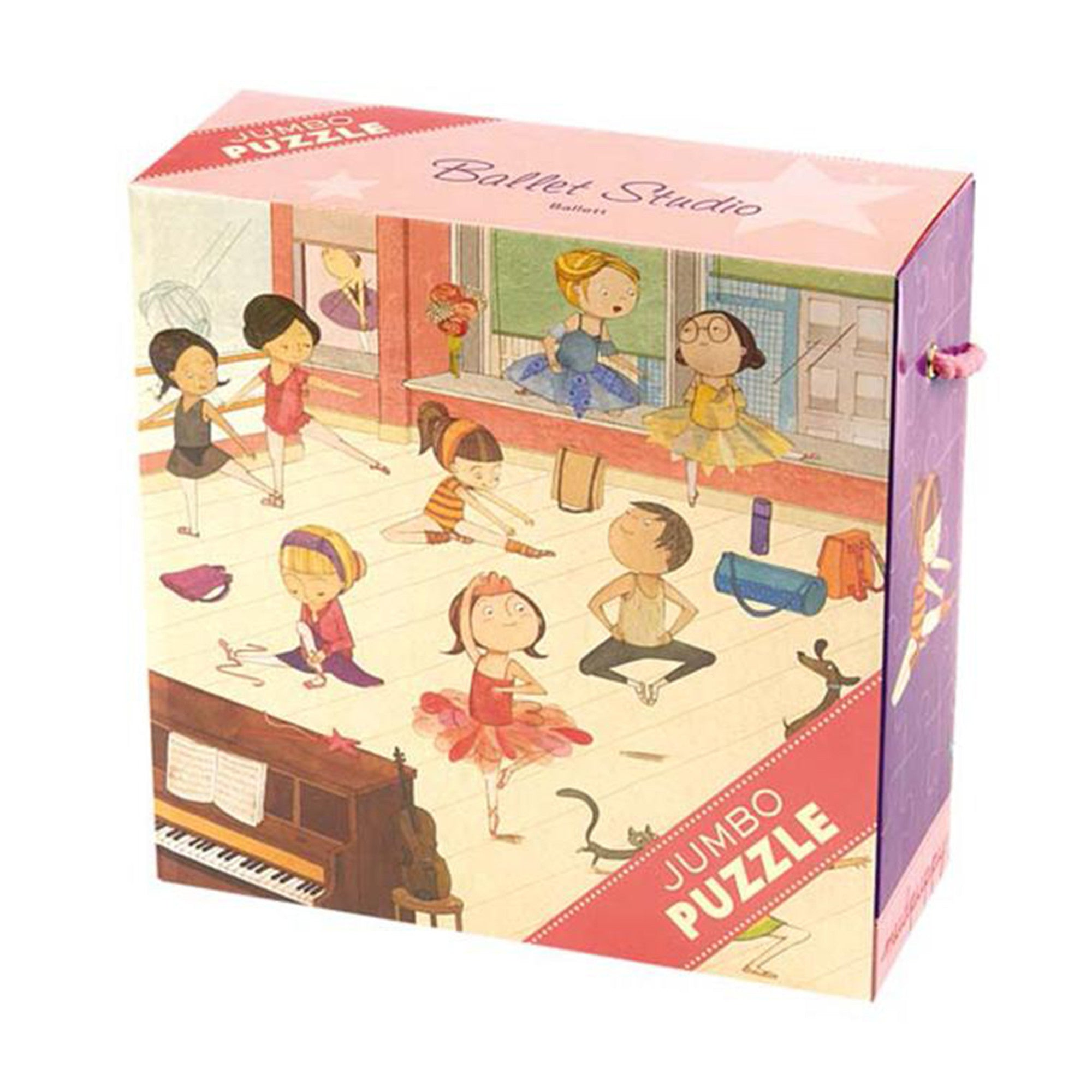 MudPuppy Jumbo Puzzle 25 Piece Mudpuppy Puzzles Ballet Studio at Little Earth Nest Eco Shop