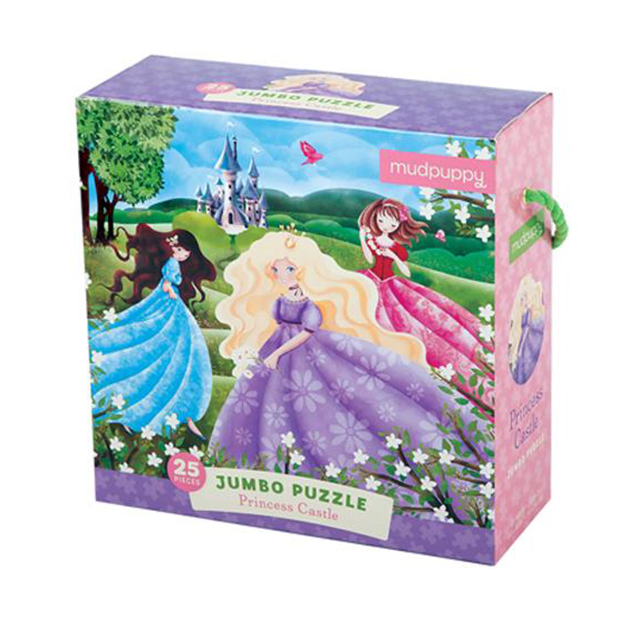 MudPuppy Jumbo Puzzle 25 Piece Mudpuppy Puzzles Princess Castle at Little Earth Nest Eco Shop