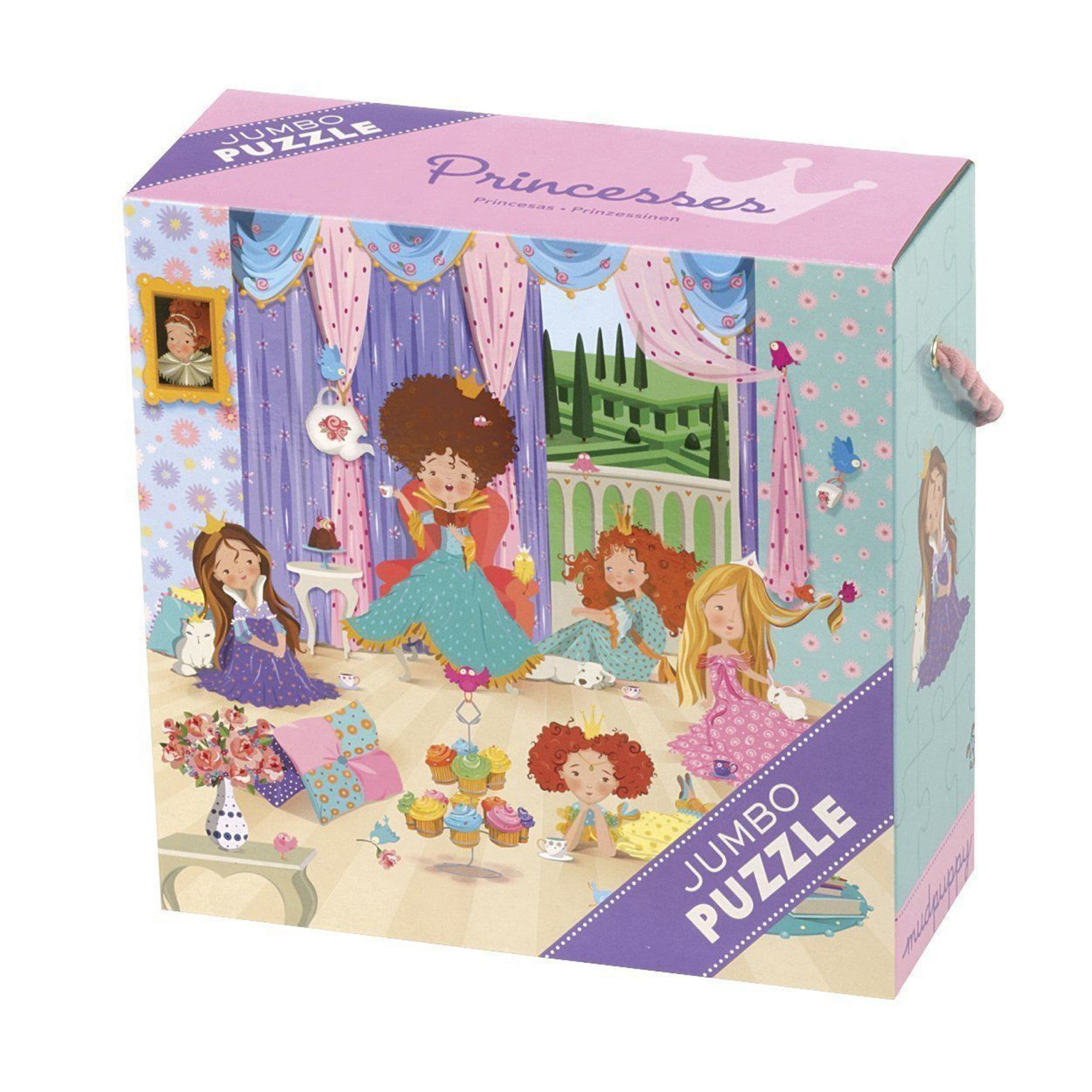 MudPuppy Jumbo Puzzle 25 Piece Mudpuppy Puzzles Princesses at Little Earth Nest Eco Shop
