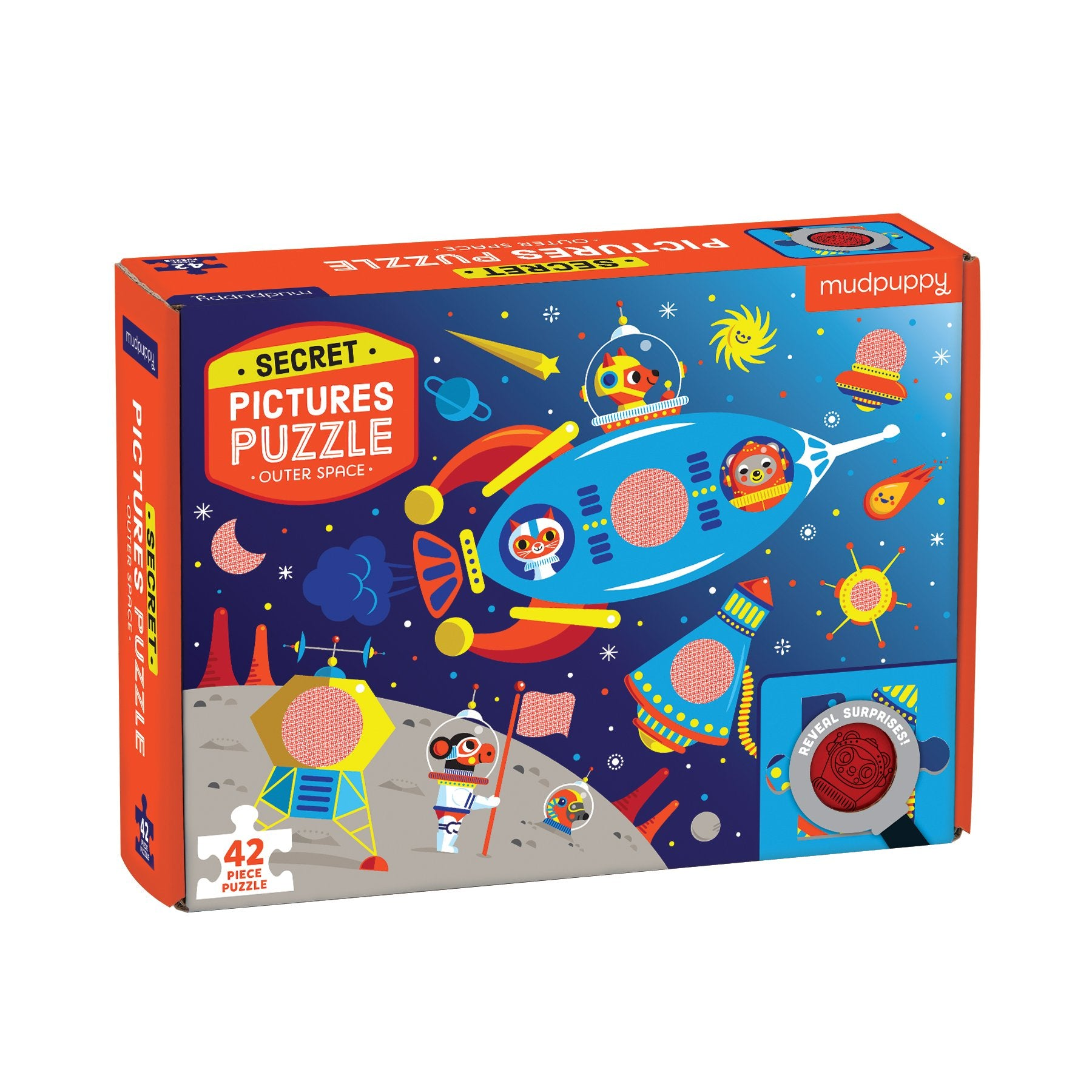 Mudpuppy Secret Pictures Puzzle Mudpuppy Puzzles Outer Space at Little Earth Nest Eco Shop