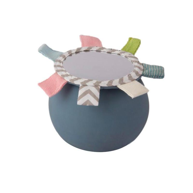 Natural Rubber Activity Ball with Tags and Mirror