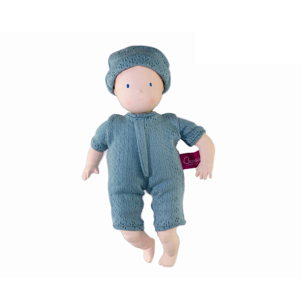 Natural Rubber Baby Doll Charlie - Little Earth Nest
