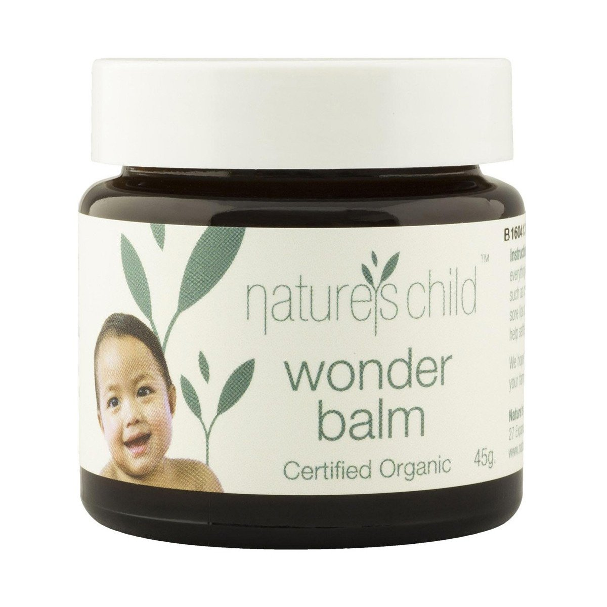 Natures Child Wonder Balm 45g Natures Child Nappy Rash Treatments at Little Earth Nest Eco Shop