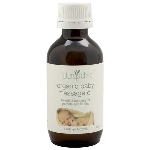 Natures Child Baby Oil 100ml Natures Child Baby Care at Little Earth Nest Eco Shop