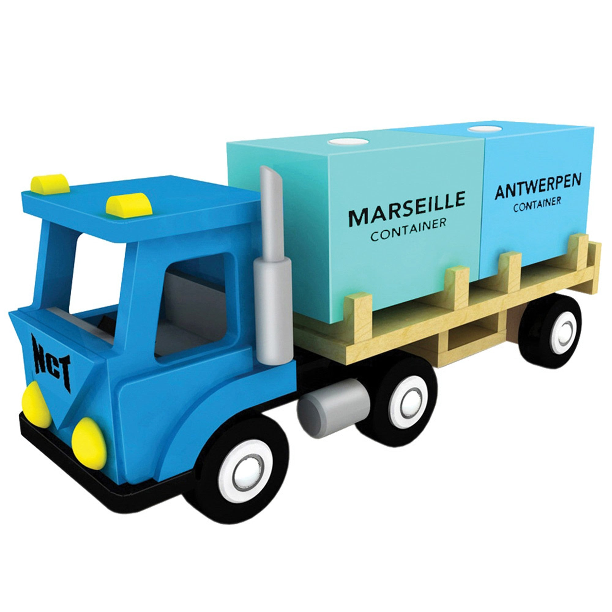 New Classic Toys Container Truck New Classic Toys Play Vehicles at Little Earth Nest Eco Shop