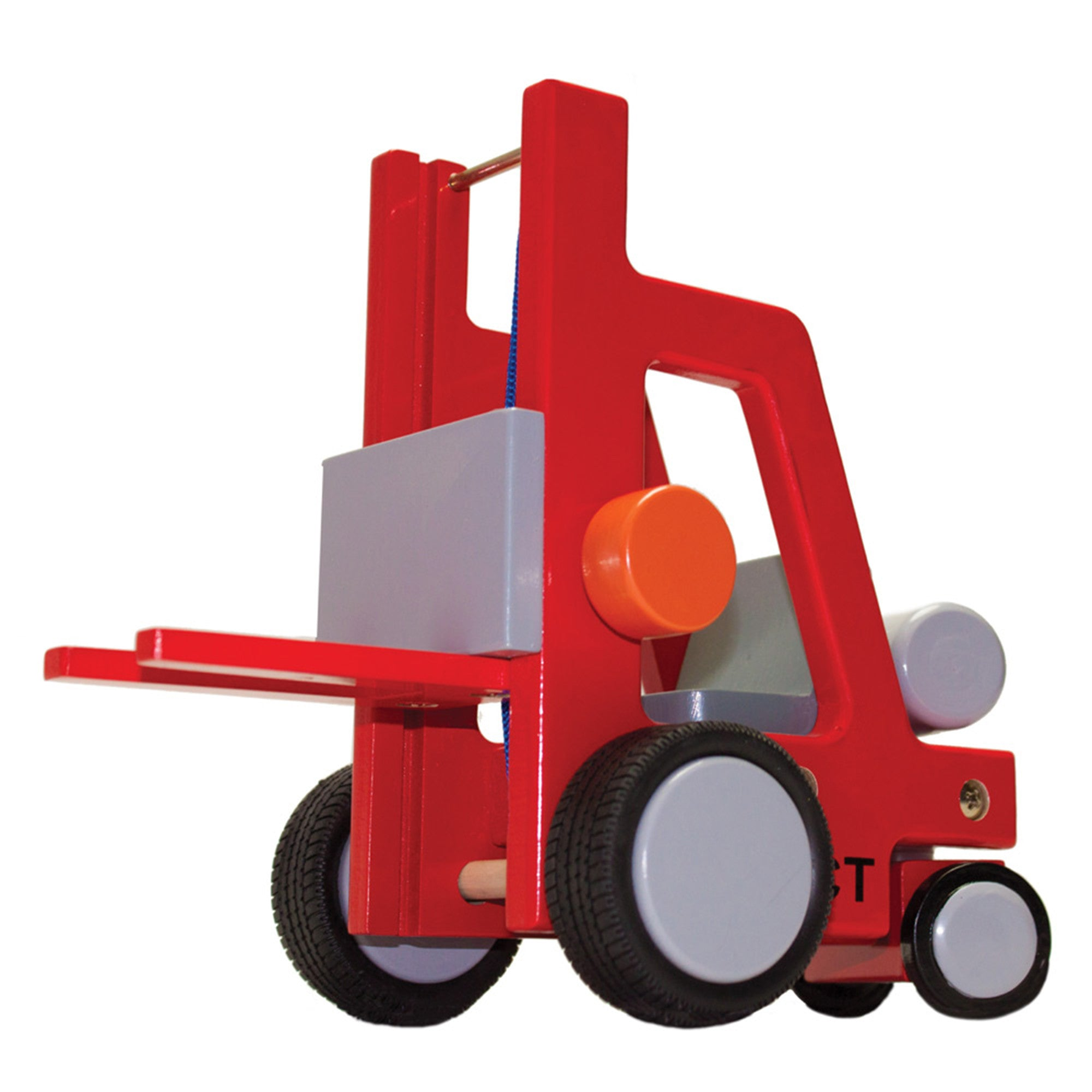 New Classic Toys Wooden Forklift New Classic Toys Play Vehicles at Little Earth Nest Eco Shop