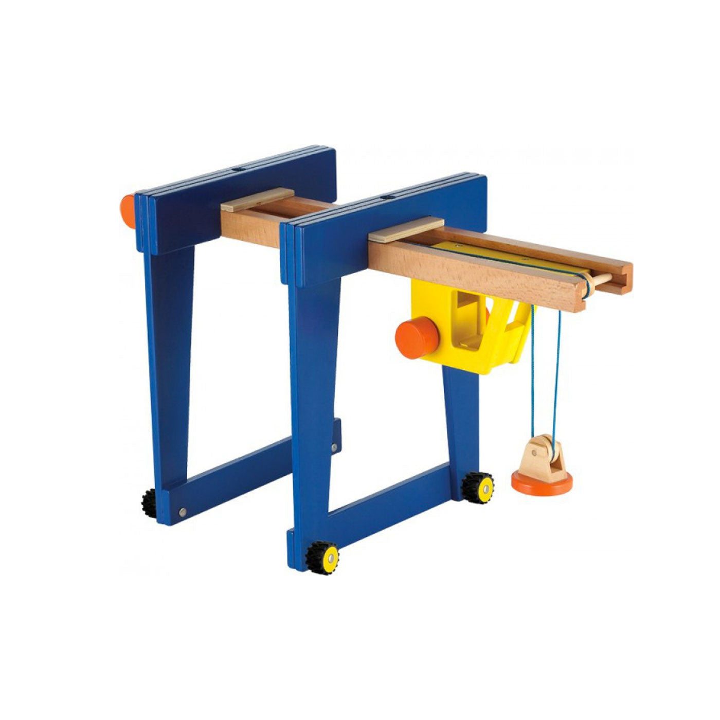 New Classic Toys Wooden Gantry Crane New Classic Toys Play Vehicles at Little Earth Nest Eco Shop