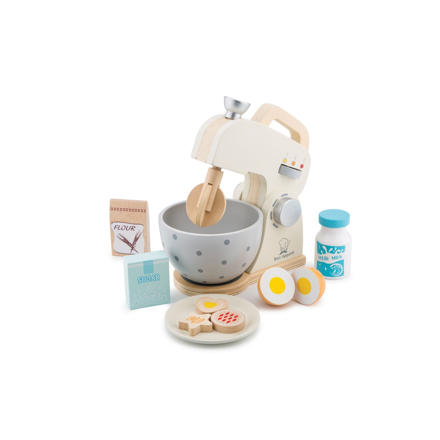 New Classic Toys Mixer Set New Classic Toys Pretend Play at Little Earth Nest Eco Shop