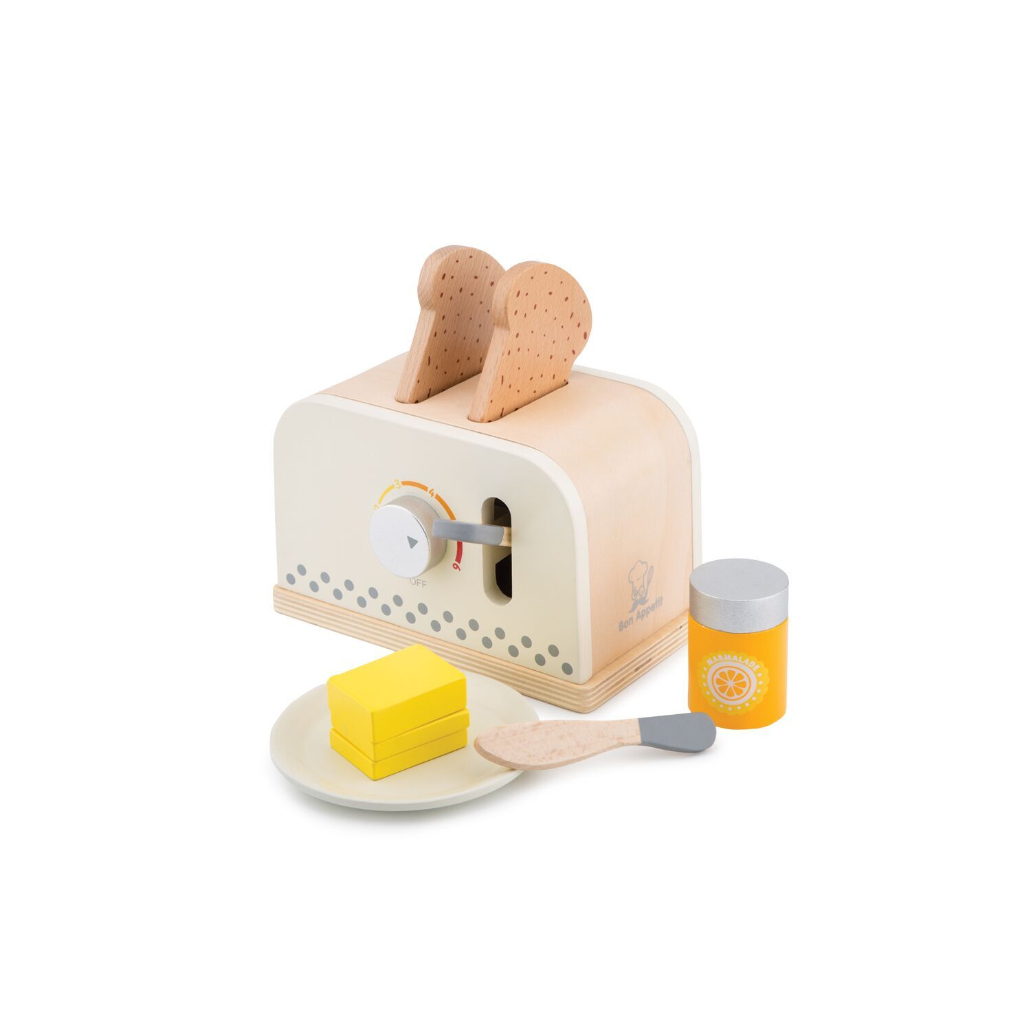 New Classic Toys Pop Up Toaster New Classic Toys Pretend Play at Little Earth Nest Eco Shop