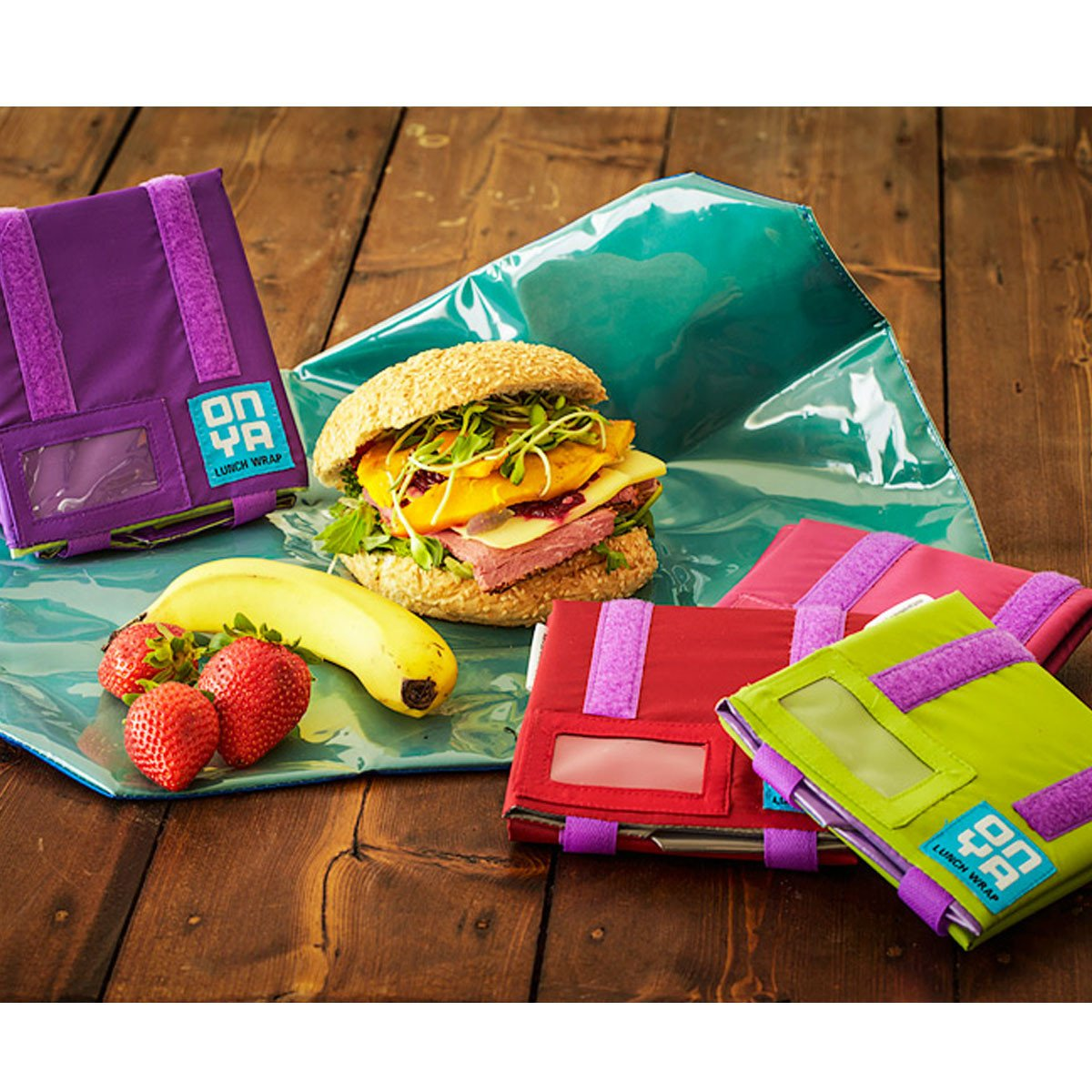 Onya Reusable Sandwich Wrap Onya Lunch Boxes and Bags at Little Earth Nest Eco Shop