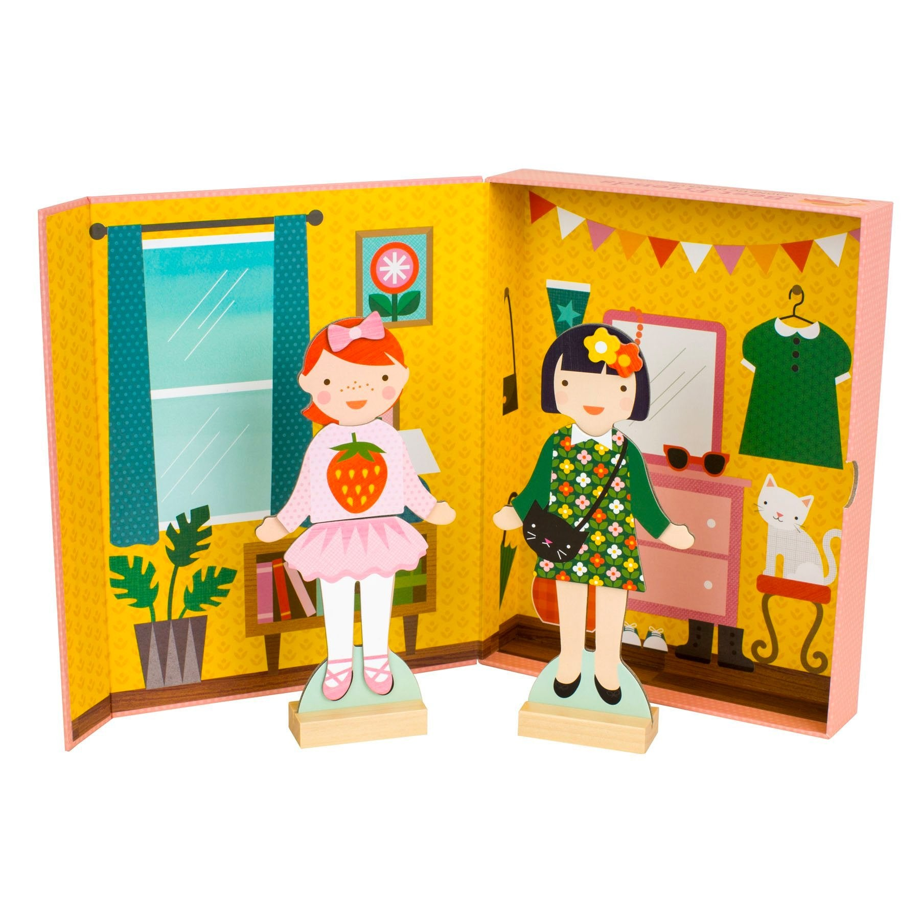 Petit Collage Magnetic Dress Up Set Petit Collage Activity Toys at Little Earth Nest Eco Shop